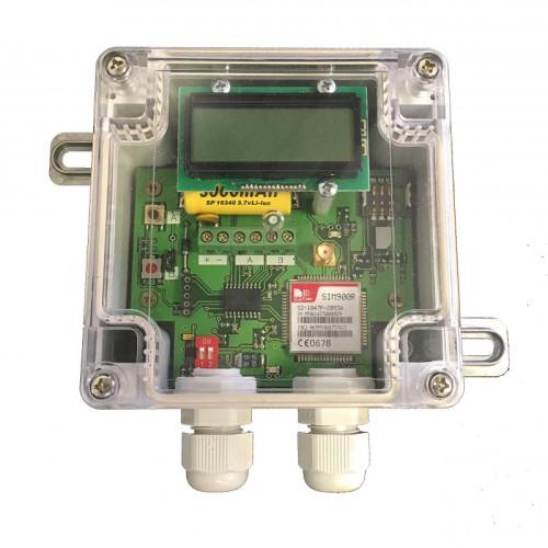 GSM-транслятор показаний счётчиков воды Сатро Коралл-10