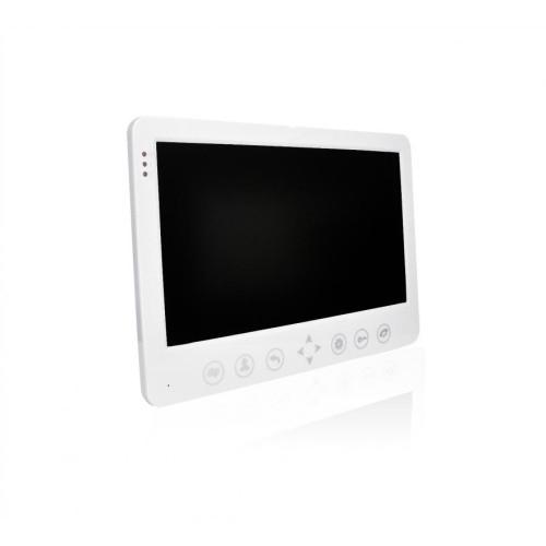 """Видеодомофон J2000-DF-АВРОРА AHD 2,0 mp (белый) 10"""""""