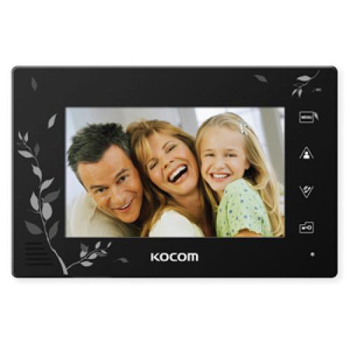 Видеодомофон Kocom KCV-A374SD LE (чёрный)