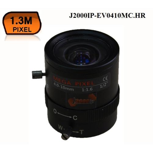 Объектив для камеры видеонаблюдения J2000IP-EV0410MC.HR