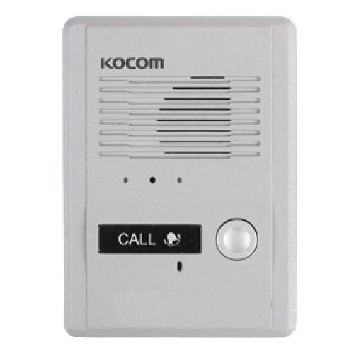 Вызывная панель домофона Kocom MS-2D (серебро)