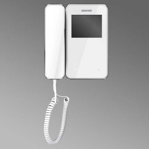 Видеодомофон Kenwei KW-E350C белый