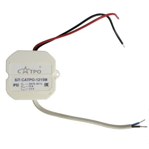 Блок питания для систем видеонаблюдения Сатро-1215М