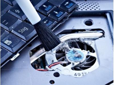 Почему ноутбук шумит и тормозит