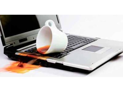 Рекомендации при заливе ноутбука жидкостью