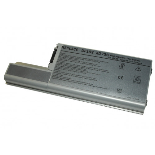 Аккумулятор для Dell Latitude D820, D830, D531, Precision M4300, M65 7800mAh REPLACEMENT