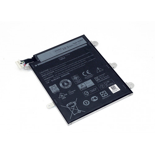 Аккумулятор для Dell Venue 8 Pro 5855 (WXR8J) 3.8V 5190mAh