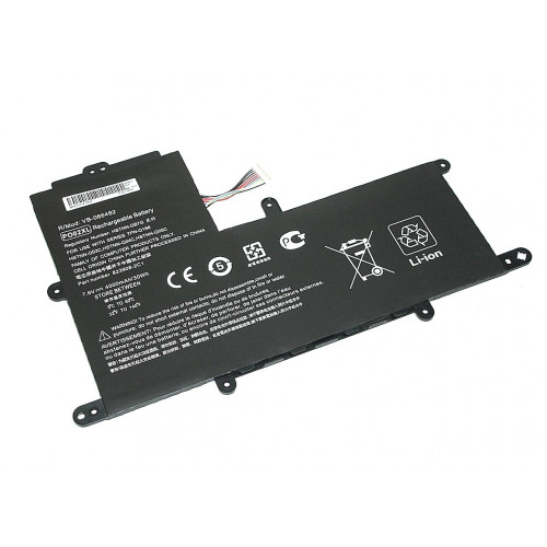 Аккумулятор для HP Stream 11-R (PO02XL) 7,6V 4000mAh REPLACEMENT