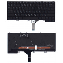 Клавиатура для ноутбука Dell Alienware 13 R3 15 R4 черная с подсветкой