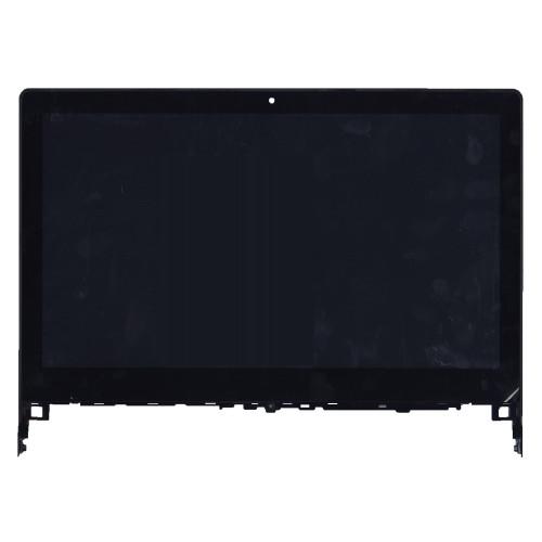 Модуль (матрица + тачскрин) для Lenovo IdeaPad Flex 2 14 FHD черный с рамкой