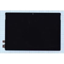Модуль (матрица + тачскрин) Microsoft Surface Pro 5 \ Surface Pro (2017) черный