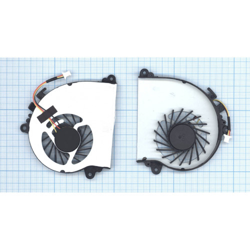 Вентилятор (кулер) для ноутбука MSI GS70 GS72 (CPU)